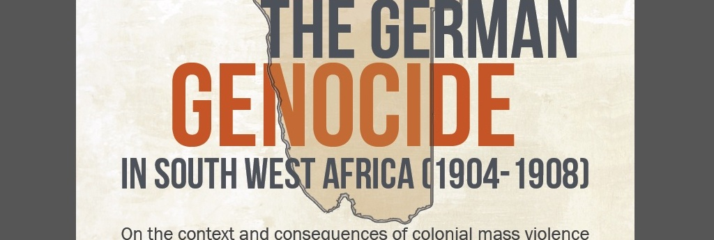 """Revisiting the German Genocide in South West Africa"": Video of a public lecture by Henning Melber"